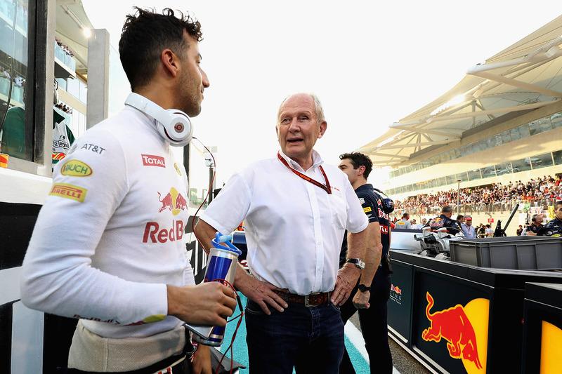 El Dr. Helmut Marko, Red Bull Motorsport Consultor