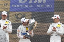 Podium: 1. Lucas Auer, Mercedes-AMG Team HWA, Mercedes-AMG C63 DTM, 2. Paul Di Resta, Mercedes-AMG Team HWA, Mercedes-AMG C63 DTM, 3. Robert Wickens, Mercedes-AMG Team HWA, Mercedes-AMG C63 DTM