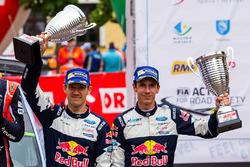 Podium: third place Sébastien Ogier, Julien Ingrassia, M-Sport