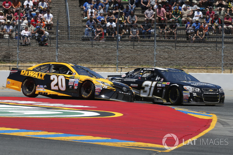 Matt Kenseth, Joe Gibbs Racing Toyota Ryan Newman, Richard Childress Racing Chevrolet