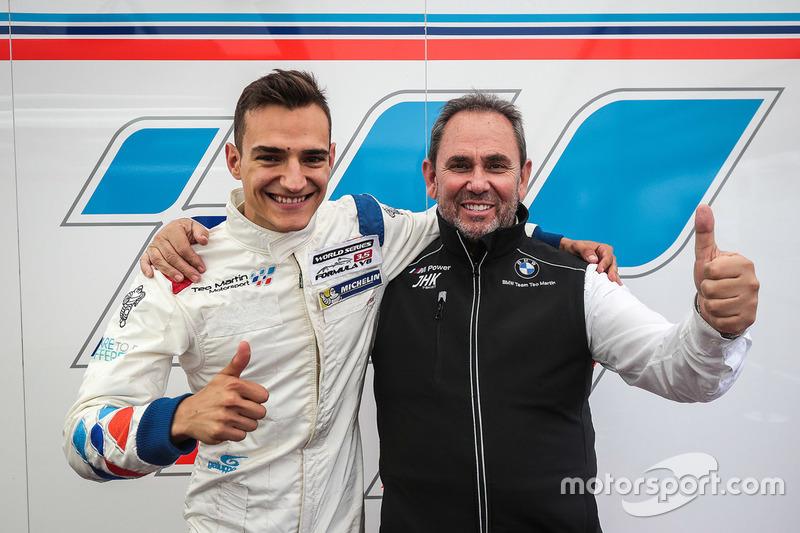 Polesitter Alex Palou, Teo Martin Motorsport