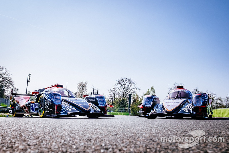 #37 DC Racing, Oreca 07 Gibson: David Cheng, Alex Brundle, Tristan Gommendy; #38 DC Racing, Oreca 07 Gibson: Ho-Pin Tung, Oliver Jarvis, Thomas Laurent