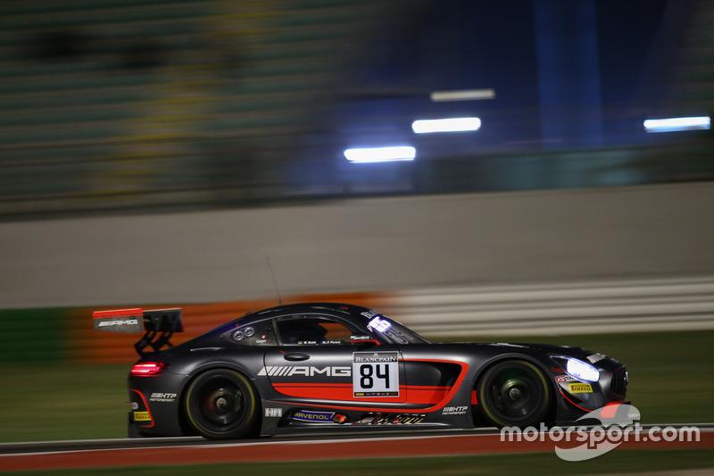 #84 Mercedes-AMG Team HTP Motorsport, Mercedes-AMG GT3: Maximilian Buhk, Franck Perera