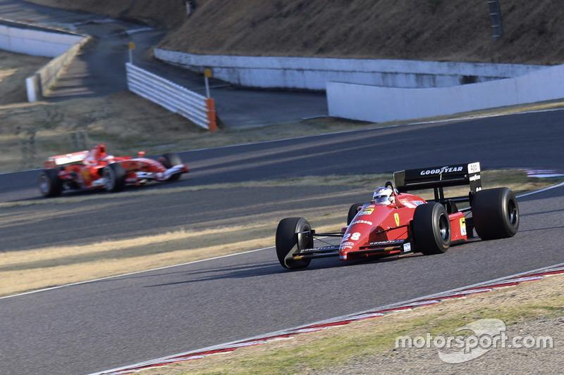 Джулиано Алези, Ferrari F1/87, Жан Алези, Ferrari 248 F1