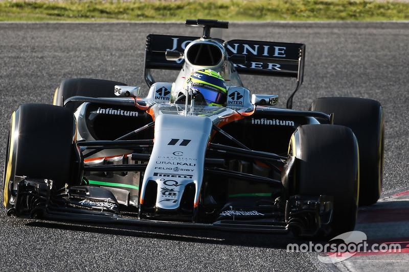 16º Sergio Pérez, Sahara Force India F1 VJM10, 1:22.534, superblandos, (103 vueltas)
