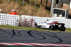Crash: Lance Stroll, Williams FW40