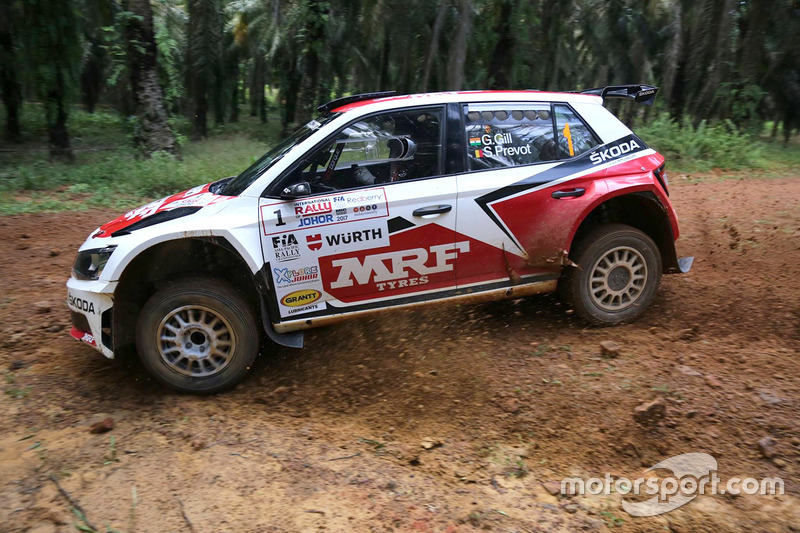 Other rally APRC Malaysia Rally - Day 2 Gaurav Gill in action