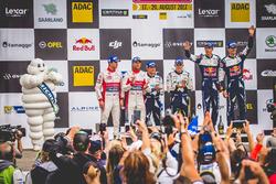 Podium: tercero Sébastien Ogier, Julien Ingrassia, Ford Fiesta WRC, M-Sport