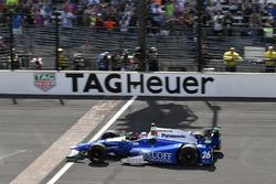 Sieg für Takuma Sato, Andretti Autosport, Honda