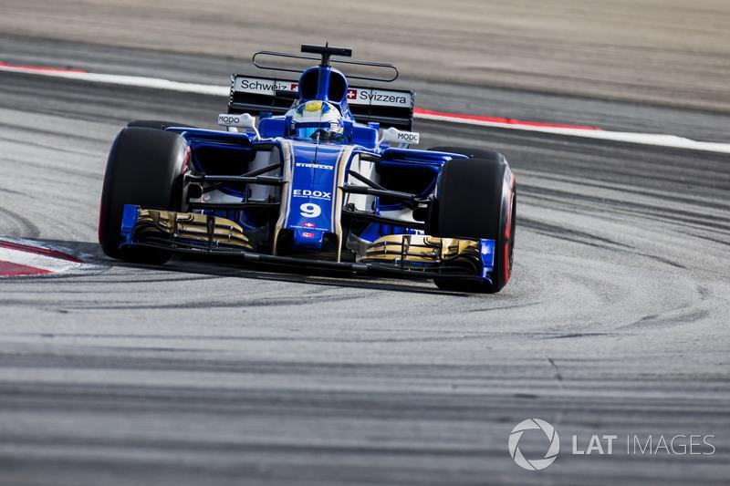 18e : Marcus Ericsson (Sauber)