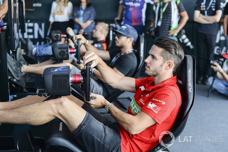 Daniel Abt, ABT Schaeffler Audi Sport, en la eRace