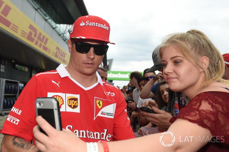 Кімі Райкконен, Ferrari, уболівальники