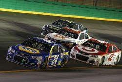 Chase Elliott, Hendrick Motorsports Chevrolet, Kyle Larson, Chip Ganassi Racing Chevrolet, Matt Kens