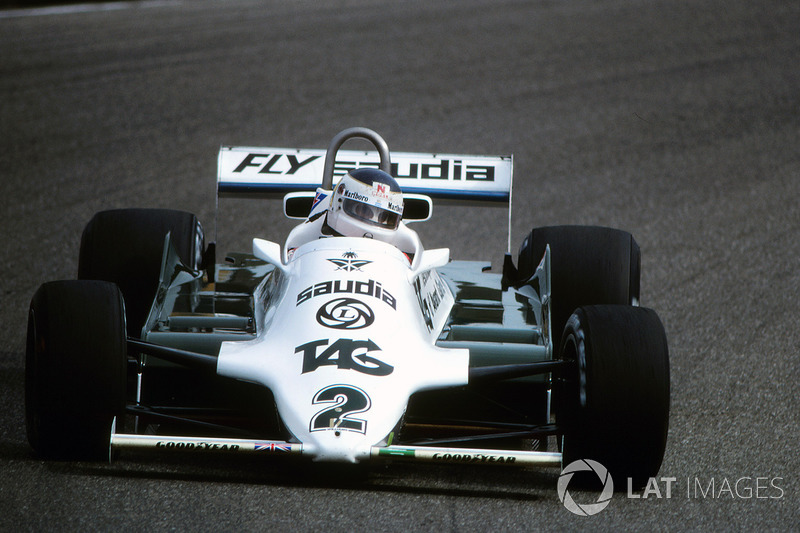 1981-82: Williams-Cosworth FW07C