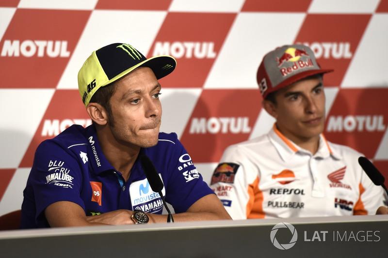 Conferencia de prensa, Valentino Rossi, Valentino Rossi, Yamaha Factory Racing