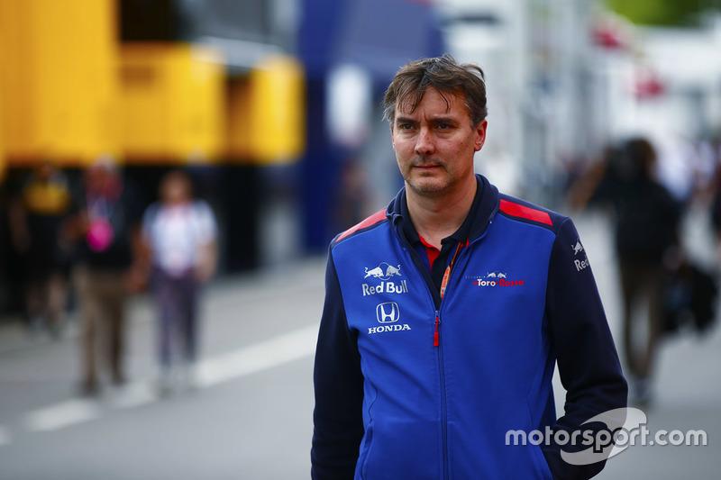 Технічний директор Toro Rosso Джеймс Кі