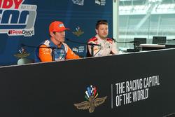 Scott Dixon, Chip Ganassi Racing Honda, Marco Andretti, Herta - Andretti Autosport Honda