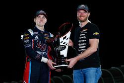 Campeón 2017 William Byron, JR Motorsports Chevrolet, dueño de equipo Dale Earnhardt Jr.