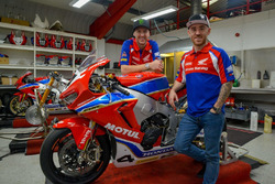 Ian Hutchinson und Lee Johnston, Honda Racing
