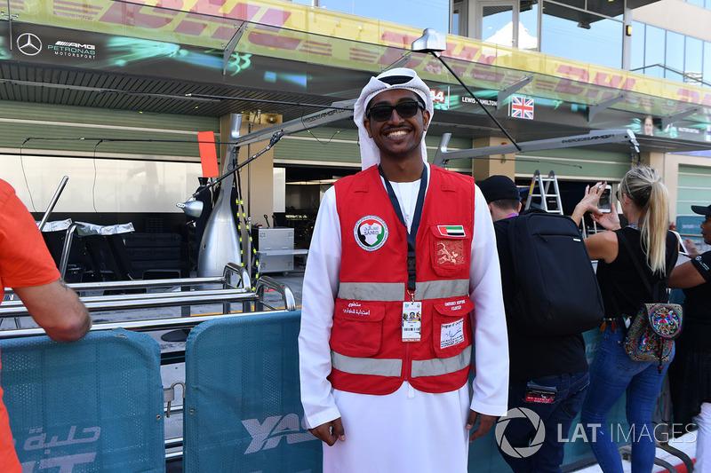 Voluntario de la respuesta de emergencia