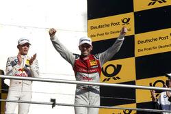 Podium: Second place and Champion 2017, René Rast, Audi Sport Team Rosberg, Audi RS 5 DTM