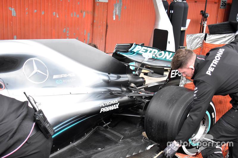 Mercedes-AMG F1 W09 arka detay