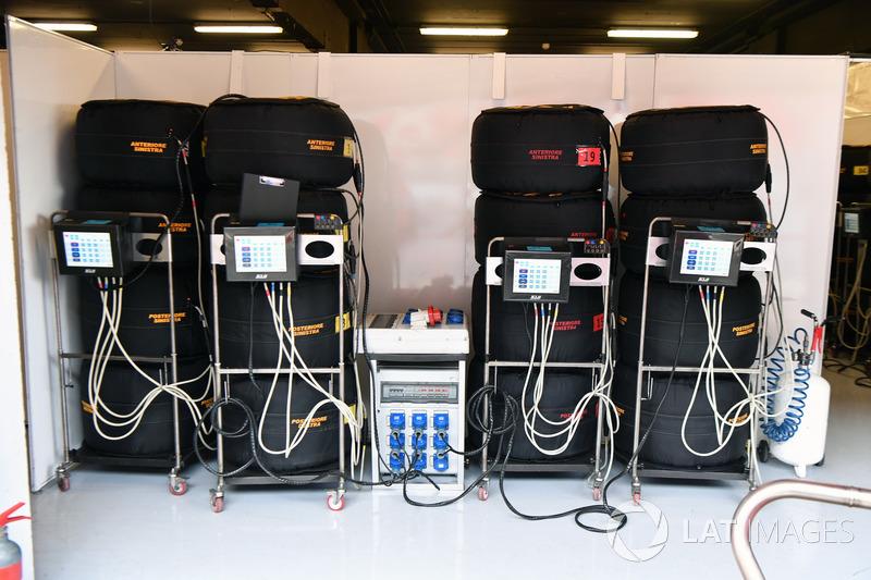 Calentadores de neumáticos