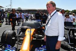 Sir Kenny Daglish, on the grid