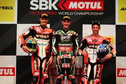 Podium: 1. Jonathan Rea, Kawasaki Racing; 2. Chaz Davies, Ducati Team; 3. Marco Melandri, Ducati Team