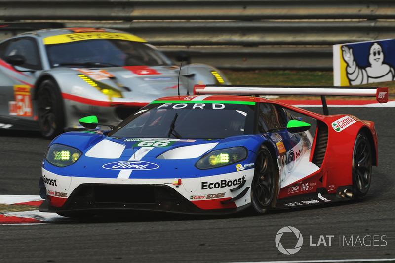 5. GTE-Pro: #66 Ford Chip Ganassi Team UK, Ford GT
