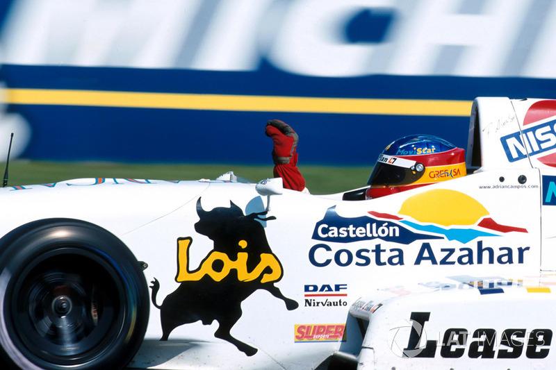 Resultado de imagen de fERNANDO ALONSO CAMPOS RACING