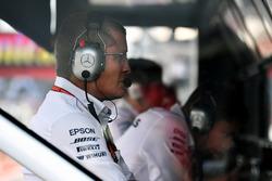 Старший инженер Mercedes AMG F1 Саймон Коул