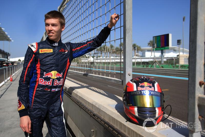 Campeón Daniil Kvyat, MW Arden