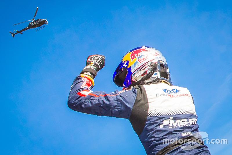 El ganador del Rally de MonteCarlo 2018, Sébastien Ogier, M-Sport Ford