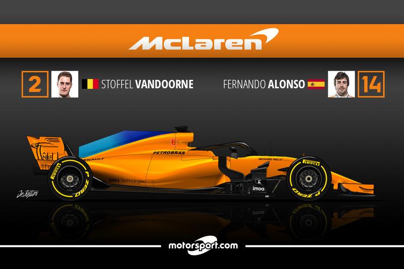 Stoffel Vandoorne 0 Fernando Alonso 21