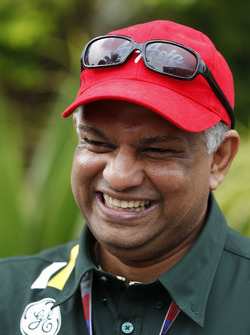 Tony Fernandes, team principal Caterham F1