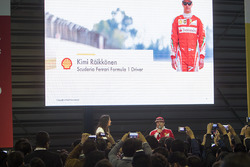 Кімі Райкконен, Ferrari, на події Shell Eco-marathon