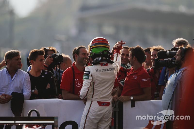 Race winner Lance Stroll, Prema Powerteam Dallara F312 – Mercedes-Benz