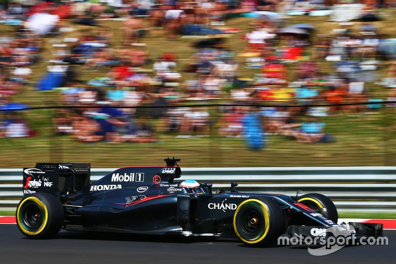 7. Fernando Alonso, McLaren MP4-31