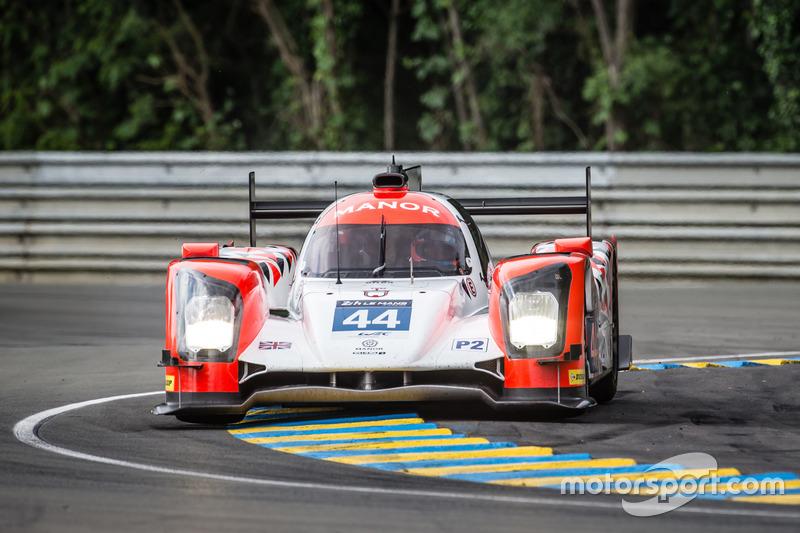 12: #44 Manor Oreca 05 Nissan: Tor Graves, Matt Rao, Roberto Merhi