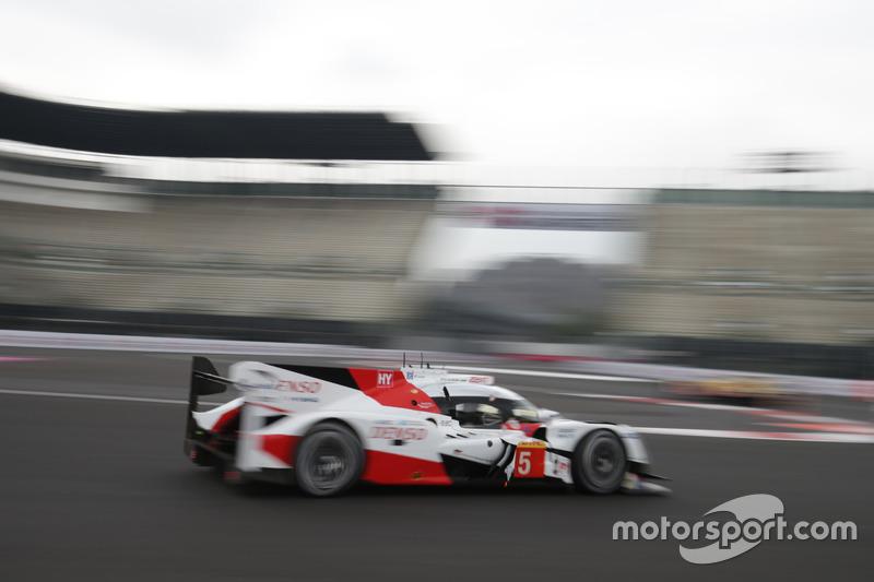 Anthony Davidson (GBR) / Sebastien Buemi (SUI) / Kazuki Nakajima (JPN) #05 Toyota Gazoo Racing Toyota TS050 Hybrid
