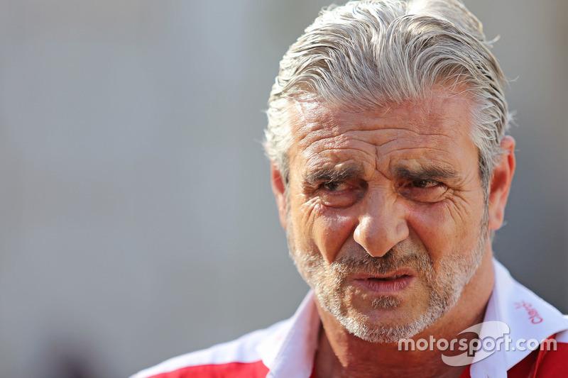 Maurizio Arrivabene, Scuderia Ferrari Teamchef