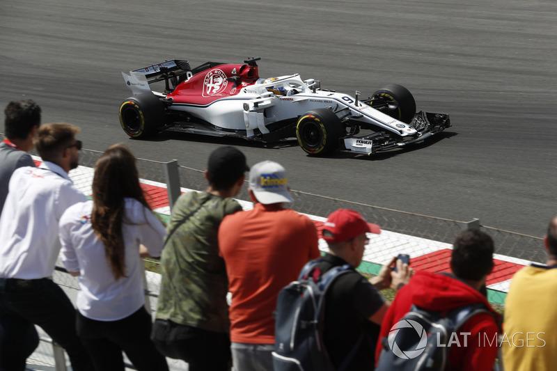 17. Marcus Ericsson, Sauber C37