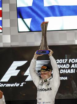 Podium: Ganador, Valtteri Bottas, Mercedes AMG F1