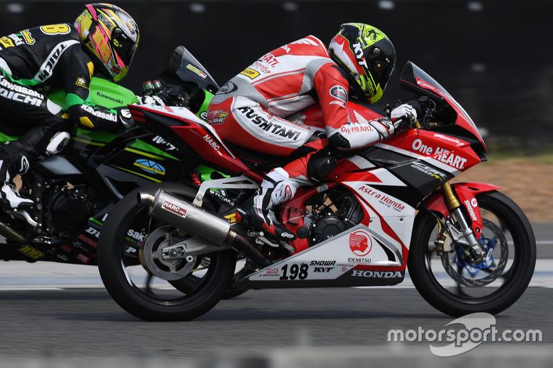 AP250: AM Fadly, Manual Tech KYT Kawasaki Racing dan Awhin Sanjaya, Astra Honda Racing Team