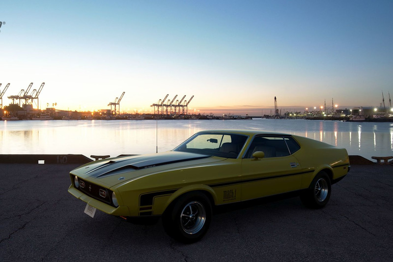 Ford Mustang Mach 1 '71