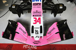 Sahara Force India F1 VJM11 front wing detail