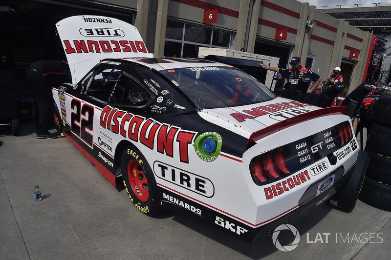 Joey Logano Team Penske Discount Tire Ford Mustang