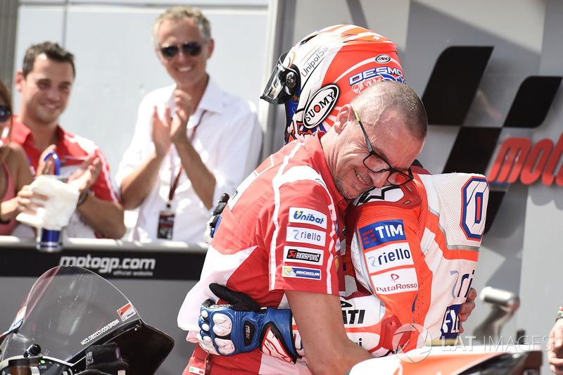 Tercero, Andrea Dovizioso, Ducati Team