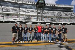 2017 NASCAR Drive for Diversity participants pose for photos